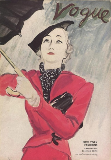 Vogue cover 1934 Schiaparelli