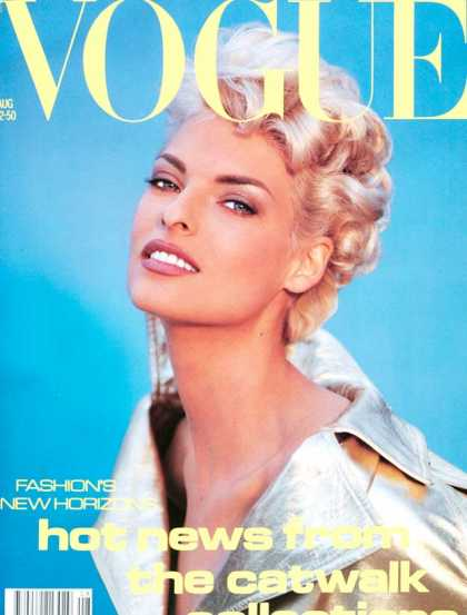 Remember when models were on the cover of Vogue?