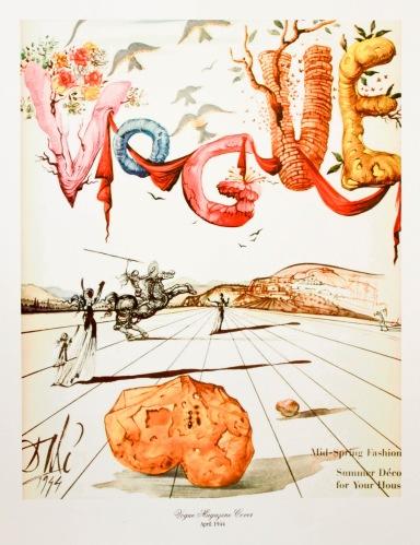 Vogue 1944 - Dali