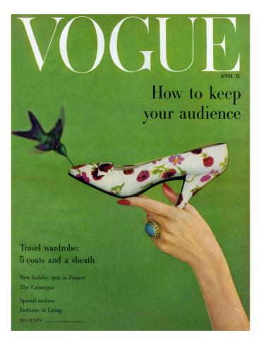 Vogue April 1957