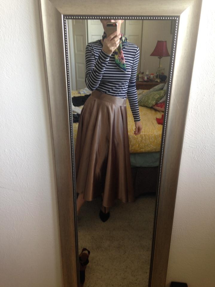 Vintage Circle Skirt pattern
