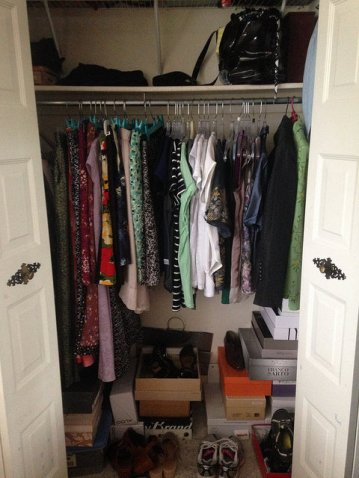 Project 333 = After Closet