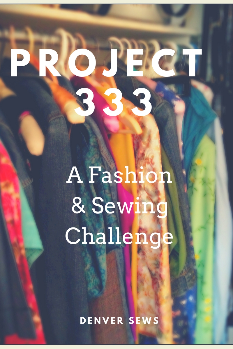 project 333 We've been loosely following project 333 around here this month and i thought it was time to actually track and organize those 33 pieces of clothing here on my blog.