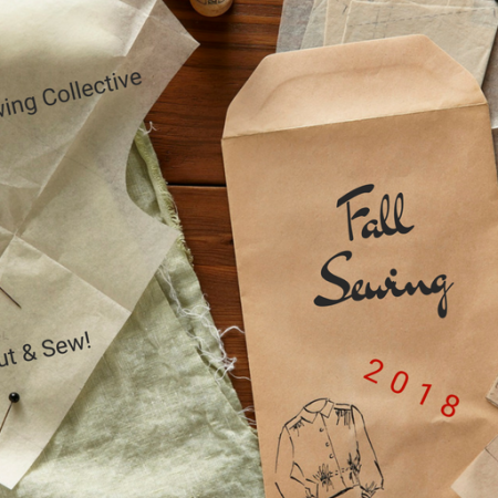 Fall sewing 2018