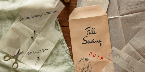Fall sewing 2018