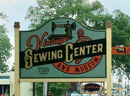 vintage sewing center musuem