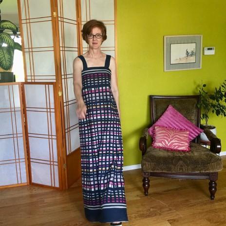 vogue 8893 maxi dress