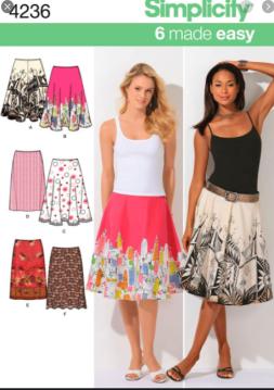 sew a circle skirt